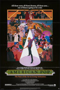 "Movie Posters:Animation, American Pop (Columbia, 1981). One Sheet (27"" X 41""). Animation....."