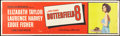 "Movie Posters:Drama, Butterfield 8 (MGM, 1960). Banner (24"" X 82""). Drama.. ..."