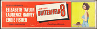 """Butterfield 8 (MGM, 1960). Banner (24"""" X 82""""). Drama"""