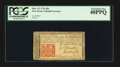 Colonial Notes:New Jersey, New Jersey March 25, 1776 18d PCGS Extremely Fine 40PPQ.. ...