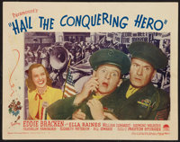 "Hail the Conquering Hero (Paramount, 1944). Lobby Card (11"" X 14""). Comedy"