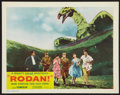 """Movie Posters:Science Fiction, Rodan! The Flying Monster (RKO, 1957). Lobby Card (11"""" X 14"""").Science Fiction.. ..."""