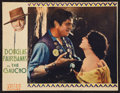 "Movie Posters:Adventure, The Gaucho (United Artists, 1927). Trimmed Lobby Card (10"" X 13"").Adventure.. ..."