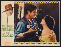 """The Gaucho (United Artists, 1927). Trimmed Lobby Card (10"""" X 13""""). Adventure"""