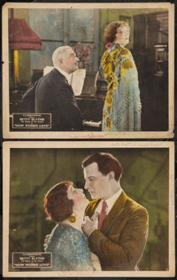 "How Women Love (BB Productions, 1922). Lobby Cards (2) (11"" X 14""). Drama. ... (Total: 2 Items)"