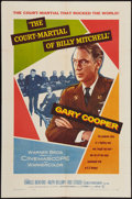 "Movie Posters:War, The Court-Martial of Billy Mitchell (Warner Brothers, 1956). OneSheet (27"" X 41"") and Lobby Cards (7) (11"" X 14""). War.. ...(Total: 8 Items)"