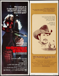"Tender Mercies and Other Lot (Universal, 1983). Inserts (2) (14"" X 36""). Drama. ... (Total: 2 Items)"