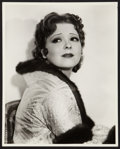 """Movie Posters:Miscellaneous, Clara Bow by Hal Phyfe (Paramount, 1932). Portrait Photo 11"""" X14""""). Miscellaneous.. ..."""