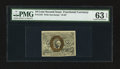 Fractional Currency:Second Issue, Fr. 1245 10¢ Second Issue PMG Choice Uncirculated 63 EPQ.. ...
