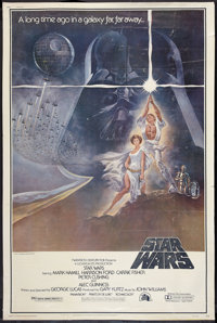 "Star Wars (20th Century Fox, 1977). Poster (40"" X 60""). Science Fiction"