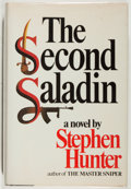 Books:Mystery & Detective Fiction, Stephen Hunter. SIGNED. The Second Saladin. Morrow, 1982.Signed by the author. Toning. Light rubbing. Near ...