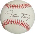 Autographs:Baseballs, Willie Mays Single Signed Baseball(Giamatti Ball)....