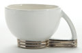 Ceramics & Porcelain, American:Modern  (1900 1949)  , A PAUL SCHRECKENGOST GEM CLAY CERAMIC PUNCH CUP . Designed by PaulSchreckengost (American, 1908-1983), . Manufactured by Ge...