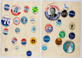 Books:Americana & American History, Group of 30 American Political Buttons. Largest approx. 3.5 inchesin diameter. All good or better condition....