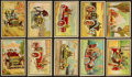 "Non-Sport Cards:Sets, 1953 Bowman ""Antique Autos"" Complete Set (48). ..."