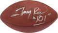 """Football Collectibles:Balls, Jerry Rice """"101"""" Signed Football...."""