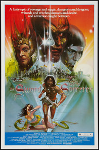 "The Sword and the Sorcerer (Group 1, 1982). One Sheet (27"" X 41""). Fantasy"
