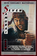 """Movie Posters:Foreign, The Seven Samurai (Landmark, R-1982). One Sheet (26"""" X 39""""). Foreign.. ..."""