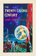 Original Comic Art:Covers, Emsh (Edward Emshwiller) The Twenty-Second CenturyPreliminary Cover Illustration Original Art (Lancer, 1962)....