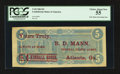Confederate Notes:1864 Issues, Advertising Note T69 $5 1864.. ...