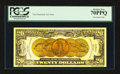 Miscellaneous:Other, Tim Prusmack Money Art $20 Gold Certificate PCGS Perfect New70PPQ.. ...