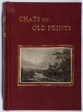 Books:Art & Architecture, Arthur Hayden. Chats on Old Prints. Fisher Unwin, 1906. Custom leather. Front joint cracking. Very good....