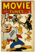 Golden Age (1938-1955):Funny Animal, Movie Tunes Comics #3 (Marvel, 1946) Condition: FN/VF....