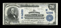 National Bank Notes:Pennsylvania, North Wales, PA - $20 1902 Plain Back Fr. 653 The North Wales NBCh. # (E)4330. ...