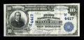 National Bank Notes:Colorado, Telluride, CO - $10 1902 Date Back Fr. 617 The First NB Ch. #(W)4417. ...