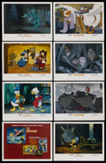 "Movie Posters:Animated, The Rescuers/Mickey's Christmas Carol Combo (Buena Vista, 1983).Lobby Card Set of 8 (11"" X 14""). Animated. ... (Total: 8 Items)"