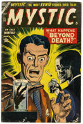 Golden Age (1938-1955):Horror, Mystic #30 (Atlas, 1954) Condition: VG....