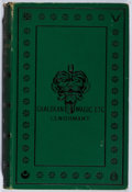 Books:Non-fiction, Francois Lenormant. Chaldean Magic. Bagster, ca. 1887. Later edition. Foxing. Notations. Good....