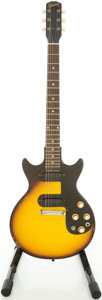 Musical Instruments:Electric Guitars, 1964 Gibson Melody Maker Sunburst Solid Body Electric Guitar,Serial # 162376....
