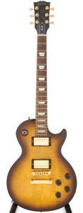 Musical Instruments:Electric Guitars, 2004 Gibson Les Paul Studio Sunburst Solid Body Electric Guitar, Serial # 01314425....