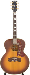 Musical Instruments:Acoustic Guitars, Early 1970s Gibson J-200 Sunburst Acoustic Guitar, Serial #A407280....