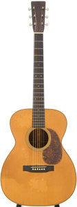 Musical Instruments:Acoustic Guitars, 1933 Martin OM-28 Natural Acoustic Guitar, Serial # 54558....