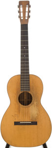 Musical Instruments:Acoustic Guitars, 1914 Martin O-21 Natural Acoustic Guitar, Serial # 11930....