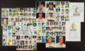 Autographs:Photos, Baseball Greats Multi Signed Sheets (80+ Signatures)...