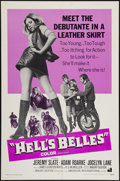 "Movie Posters:Exploitation, Hell's Belles and Other Lot (American International, 1969). OneSheets (2) (27"" X 41"") and Photos (3) (8"" X 10""). Exploitati...(Total: 5 Items)"