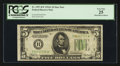 Fr. 1957-B* $5 1934A Federal Reserve Star Note. PCGS Very Fine 25