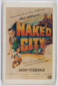 Books:Mystery & Detective Fiction, [Screenplay]. Malvin Ward, et al. SIGNED. The Naked City.Southern Illinois University, 1979. Signed by the author...