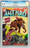 Silver Age (1956-1969):Adventure, Anthro #1 (DC, 1968) CGC NM 9.4 Cream to off-white pages....