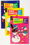 Bronze Age (1970-1979):Cartoon Character, Walt Disney's Comics and Stories File Copies Group (Gold Key,1974-82) Condition: Average FN/VF.... (Total: 89 Comic Books)
