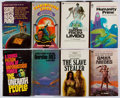 Books:Science Fiction & Fantasy, Group of Eight Science Fiction Mass Market Paperbacks, Seven Inscribed. Good or better condition.... (Total: 8 Items)