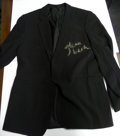 Movie/TV Memorabilia:Autographs and Signed Items, Glenn Beck Autographed Suit Coat. Benefitting Mercury One. ...