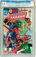 Modern Age (1980-Present):Superhero, Justice League of America #200 (DC, 1982) CGC NM/MT 9.8 Off-whiteto white pages....
