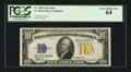 Small Size:World War II Emergency Notes, Fr. 2309 $10 1934A North Africa Silver Certificate. PCGS Very Choice New 64.. ...