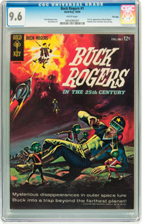 Buck Rogers #1 File Copy (Gold Key, 1964) CGC NM+ 9.6 White pages