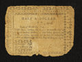 Colonial Notes:North Carolina, North Carolina August 8, 1778 $1/2 Very Good.. ...