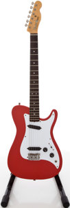 Musical Instruments:Electric Guitars, 1981 Fender Bullet Red Solid Body Electric Guitar, #101521....